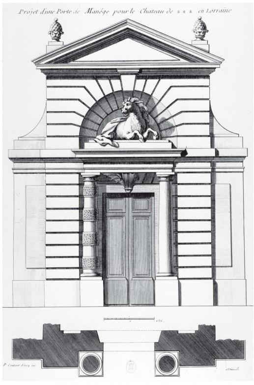 Au service du ch teau chapitre 6 le mod le royal for Dictionnaire architecture et construction