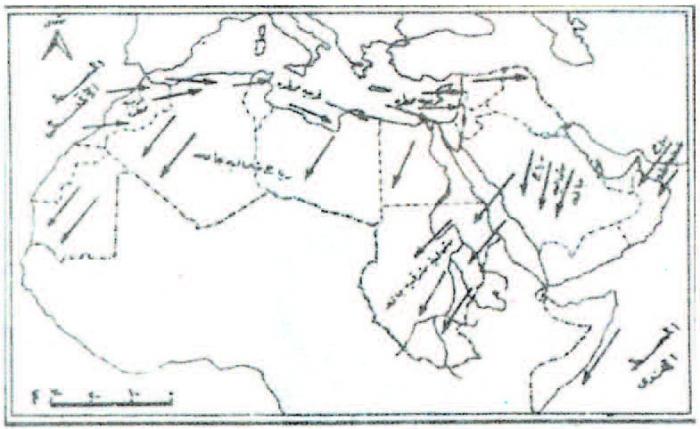 Continu Et Discontinu Dans Lespace Géographique La Carte Et La