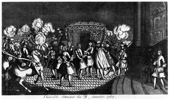 L'Attentat de Damiens - 2. L'iconographie - Presses universitaires de Lyon