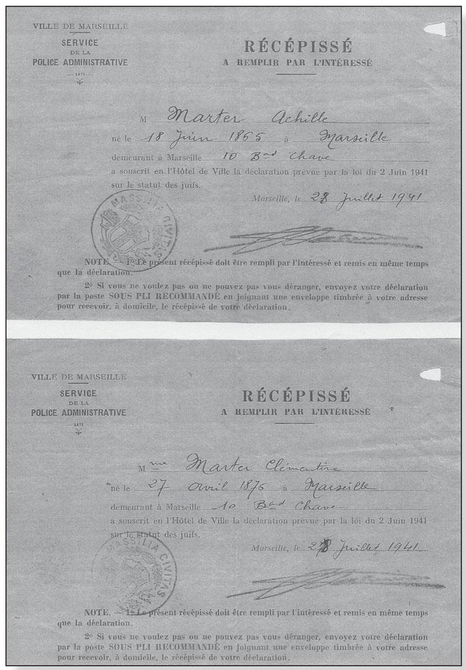 Provence Auschwitz Les Rafles à Marseille Témoignages Et