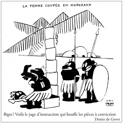 Le rire europ en caricatures de noirs dans la presse humoristique europ enne 1879 1958 - Le truc de la femme coupee en deux ...