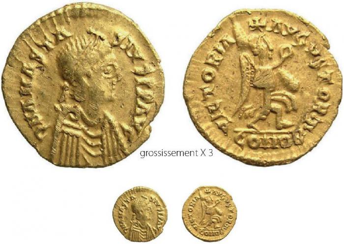 Constans - Fel Temp Reparatio Useful Empire Romain Alexandrie Maiorina 348-350