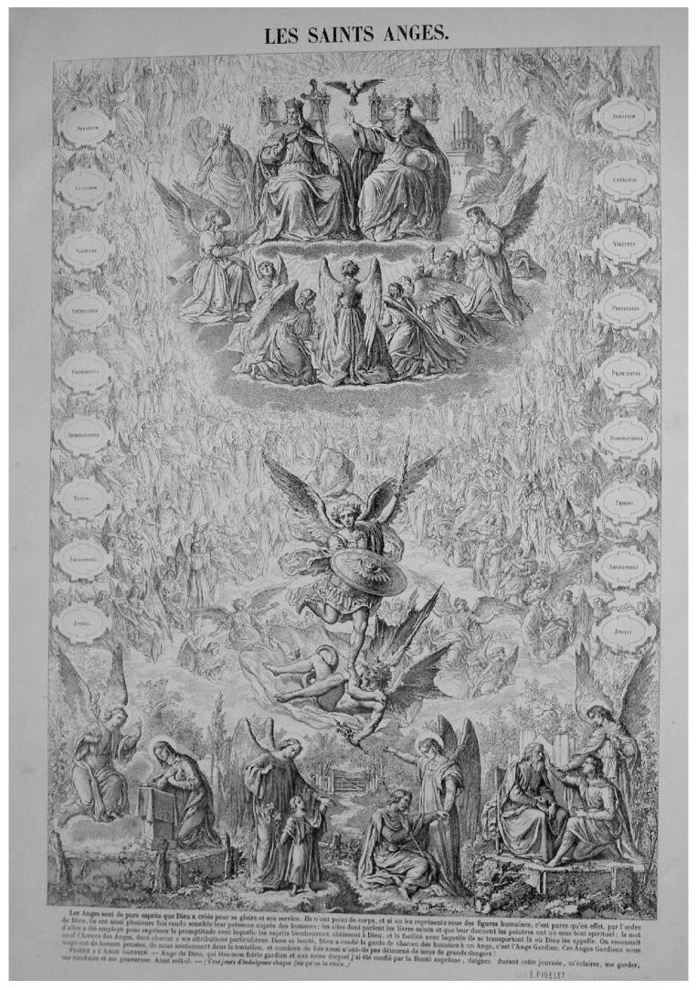 Dessin Ange Realiste de socrate à tintin - ange gardien et combat spirituel