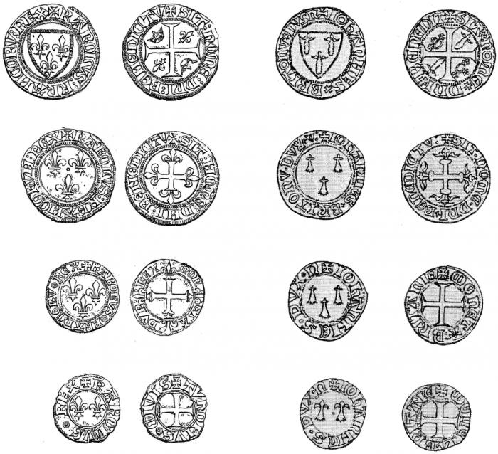 monnaie feodale normandie