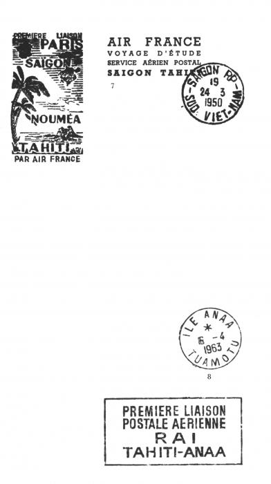 tahiti et l aviation 1964 traces philat liques des premi res liaisons a riennes soci t. Black Bedroom Furniture Sets. Home Design Ideas