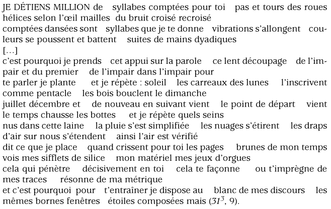 Jacques Roubaud Lamour Du Nombre 7 Linspiration