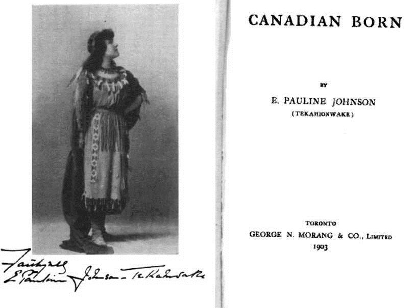 Home-Work - Postcolonialism Meets Book History: Pauline Johnson and